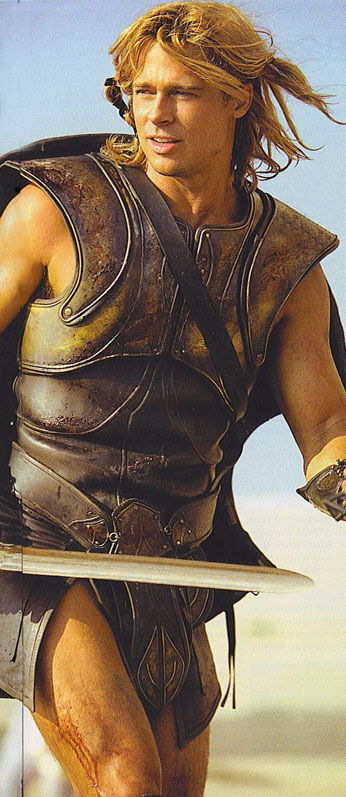 brad pitt pictures from troy. Brad Pitt As Achilles Troy