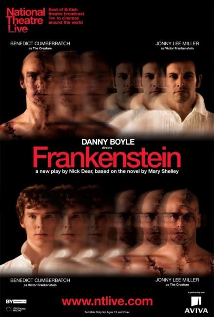 danny boyle u2019s frankenstein  u2026 at a theatre near you  u00ab movie city news