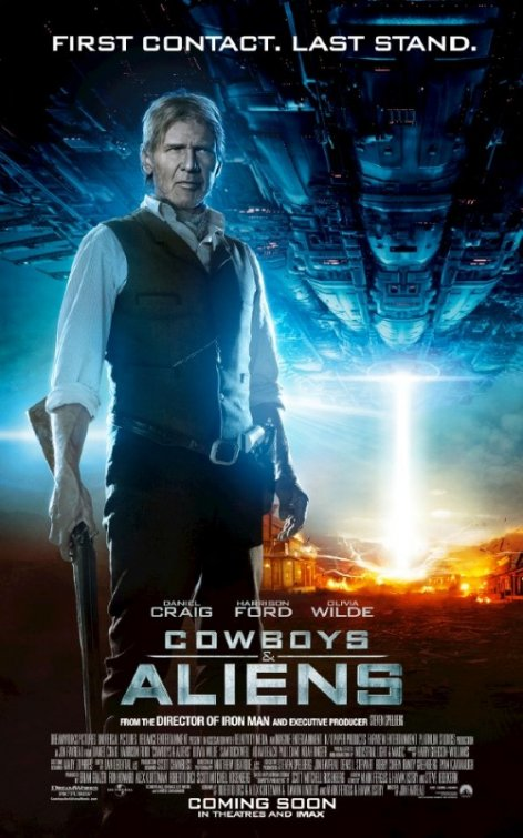 free cowboys and aliens movie