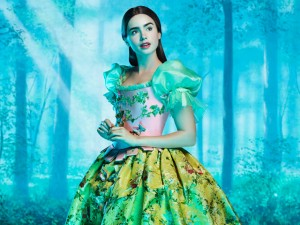 Lily Collins as Snow White in the Untitled Snow White Project