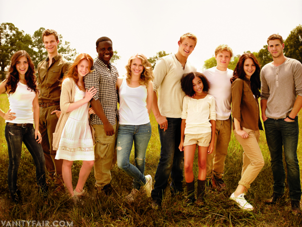 And so goes The Hunger Games . The film is loaded with actors who are