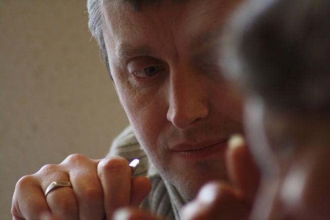 Sergei Loznitsa, by Ray Pride.
