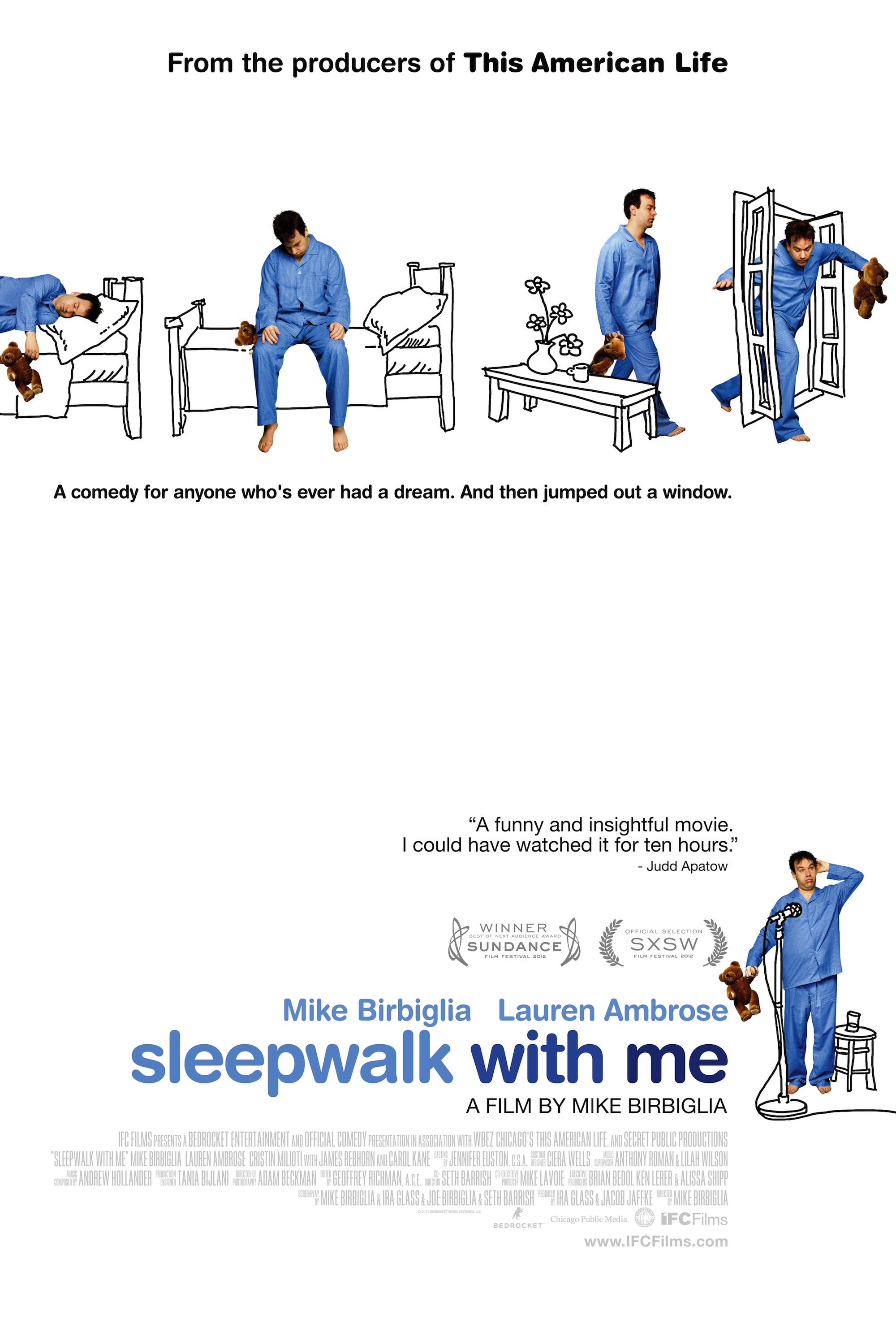 Watch Sleepwalk with Me Movie Online Free 2012