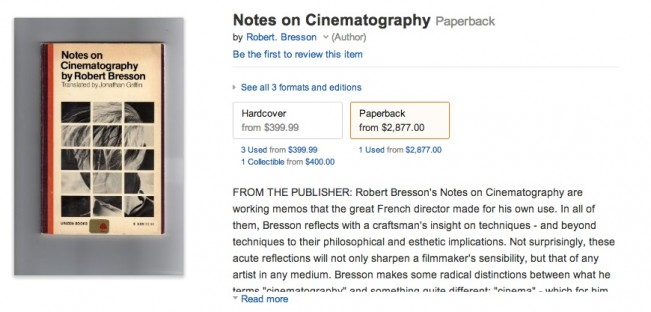 The Value Of Bresson