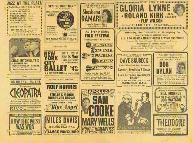NYC November 1963