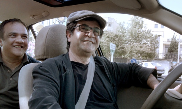 An undated handout picture shows director Jafar Panahi in a still from his film 'Taxi'. The movie will be presented in the Official Competition of the 65th annual Berlin Film Festival 'Berlinale', which runs from 05 to 15 February 2015.