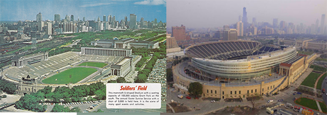 solider field old new
